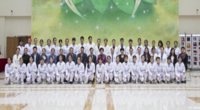 树兰首批护理学院的学生毕业啦